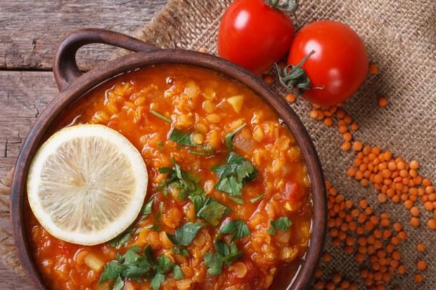 red lentil dal 1
