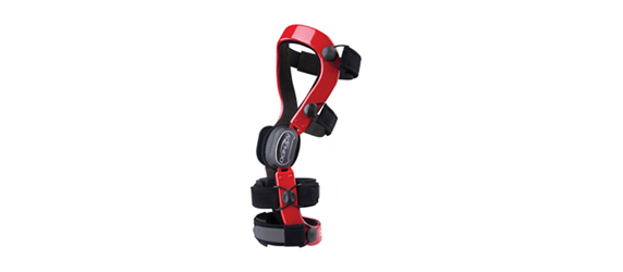 defiance knee brace red hires